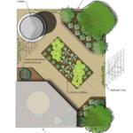 rendered landscape plan